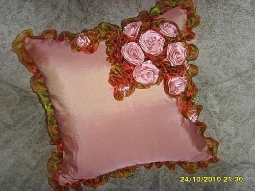 Подушка Розовая мечта