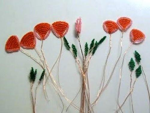 Роза из Бисера по Технике Бисерного плетения – Мастер-Класс