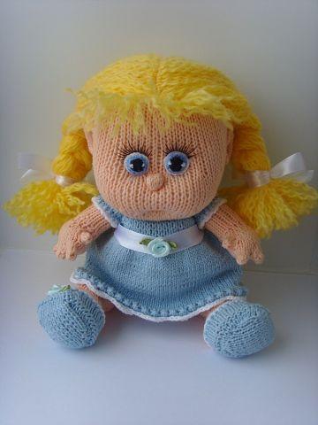 Вязаная кукла своими руками Ульяна