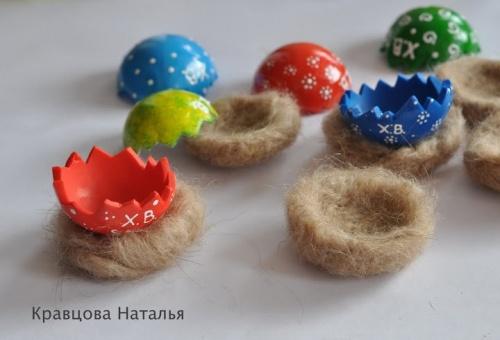 Мастер-класс: Сувенир к Пасхе - Цыплята в Скорлупках