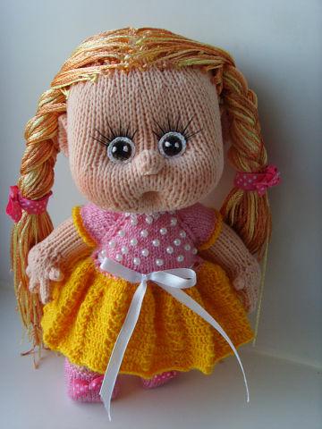 Вязаная кукла своими руками Злата