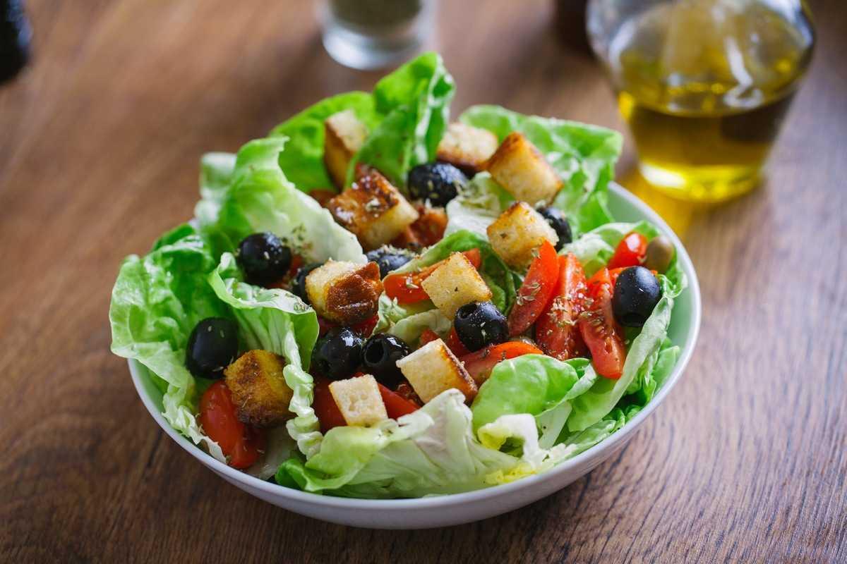 Средиземноморский салат Греции 10 самых здоровых продуктов со всего мира