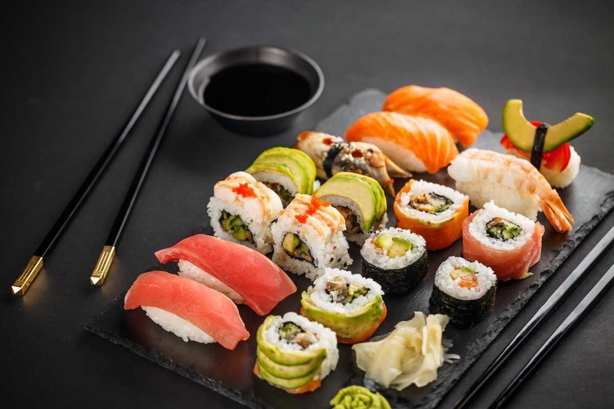 Суши Японии 10 самых здоровых продуктов со всего мира