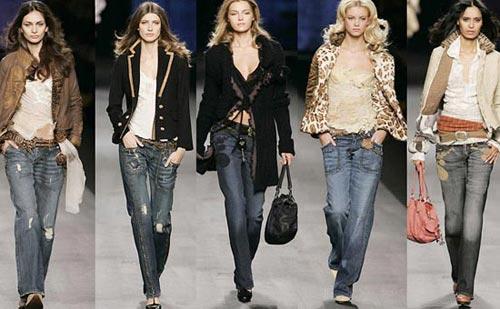 Модные Тенденции Сезона Весна-Лето 2013 - Джинсовые Вещи