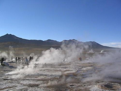 Искупайтесь в термальных водах Эль Татио