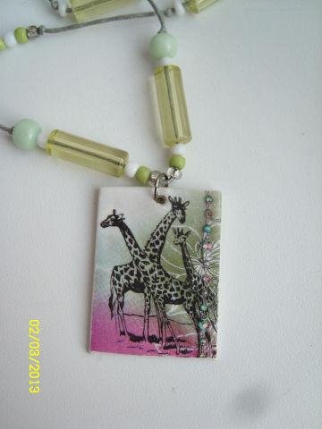 Подвеска в виде украшений Жирафы