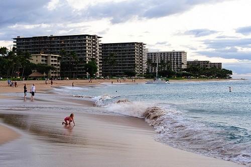 Каанапали-бич, Гавайи