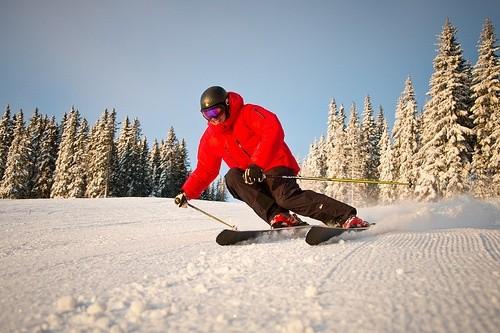 Покатайтесь на лыжах