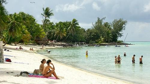 Пляж Матира, Таити