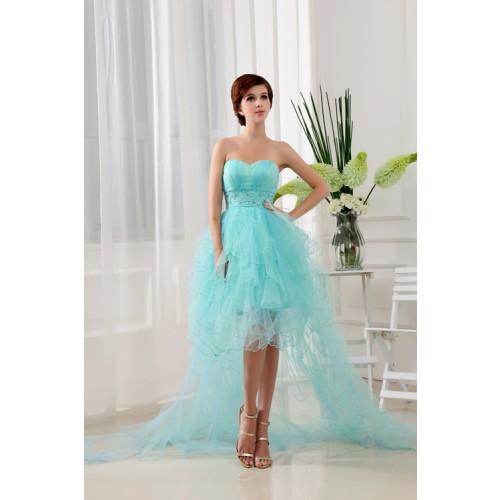 Платье с просвечивающейся тканью