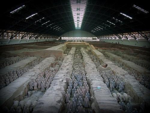 Терракотовая армия императора Цинь