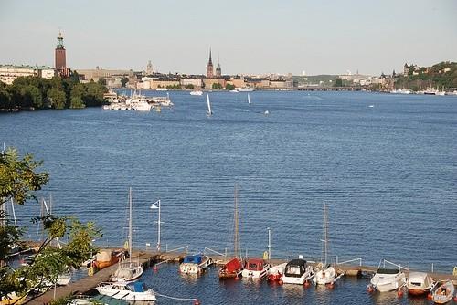Вид на море, Стокгольм