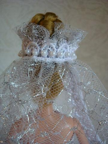 Мастер-Класс по Технике Шитья и Создание Свадебного Наряда для Барби. Шаг 25.