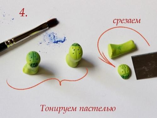Божья Коровка из Полимерной Глины – Мастер-Класс. Шаг 5.