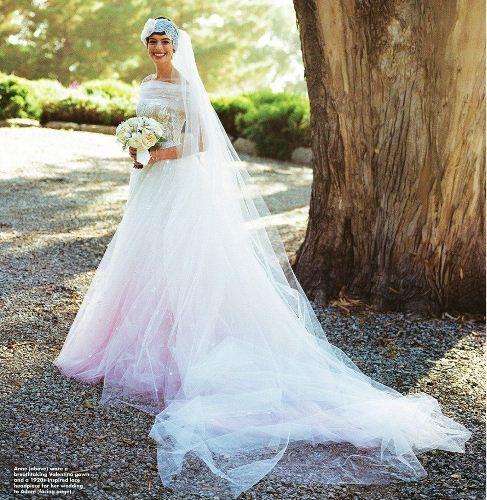 Свадебное платье Энн Хэтэуэй