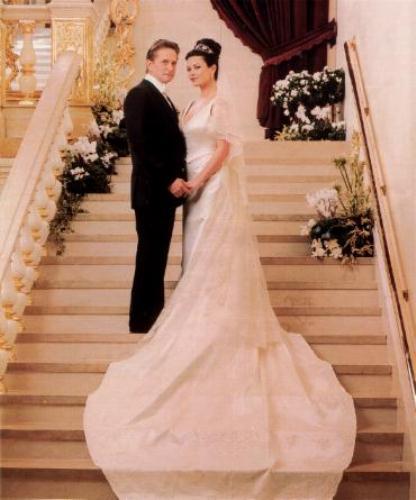 Свадебное платье Кэтрин Зета-Джонс