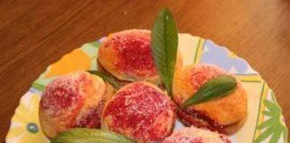 Печенье «персик» своими руками
