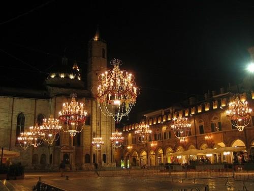 Сделайте перерыв в Пьяцца Мерканти
