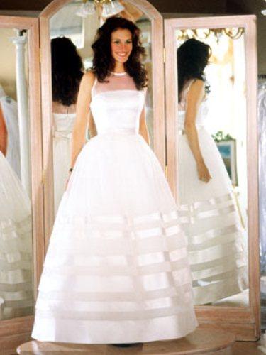 Свадебное платье Джулия Робертс