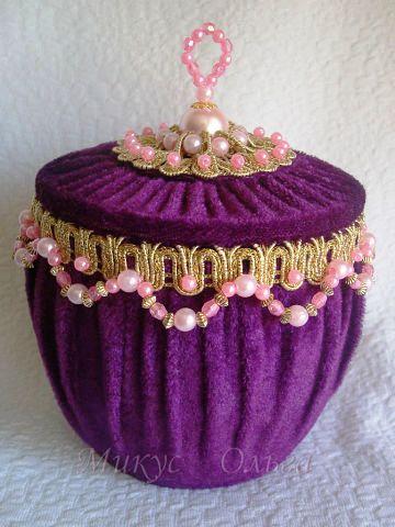 Шкатулка Царская корона