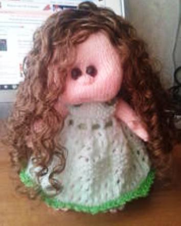 Мастер-Класс по Созданию Кудрявых Волос для Куклы Авторской Работы. Шаг 4