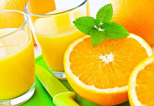 Апельсиновый сок с добавлением растительных стеринов или станолов