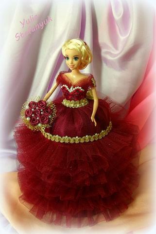 Кукла-шкатулка «Королева»