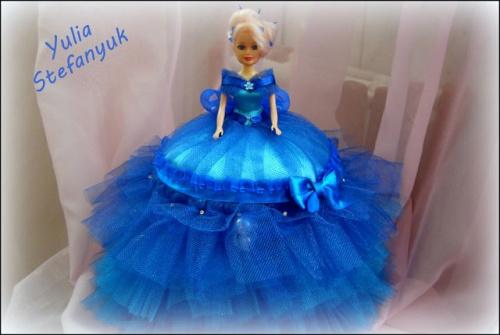 Кукла-шкатулка Небесная волшебница по технике шитья