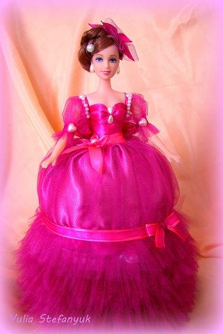 Кукла-шкатулка Очаровашка по технике шитья