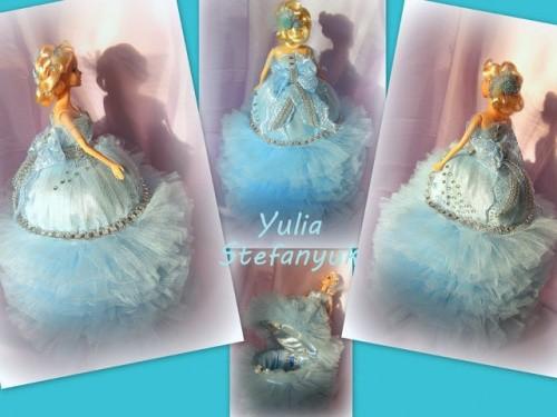 Кукла-шкатулка Морская королева по технике шитья