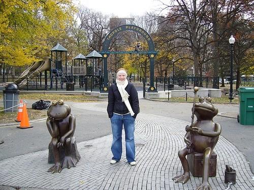 Лягушачий пруд в Бостоне