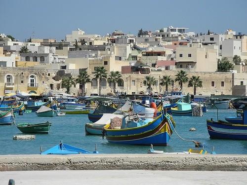 Рыбный рынок Марсашлокка на Мальте