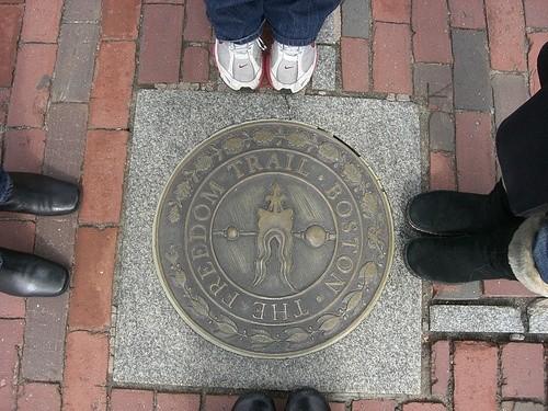 Тропа свободы в Бостоне