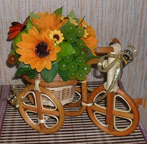 Велосипеды в виде декора Дары лета