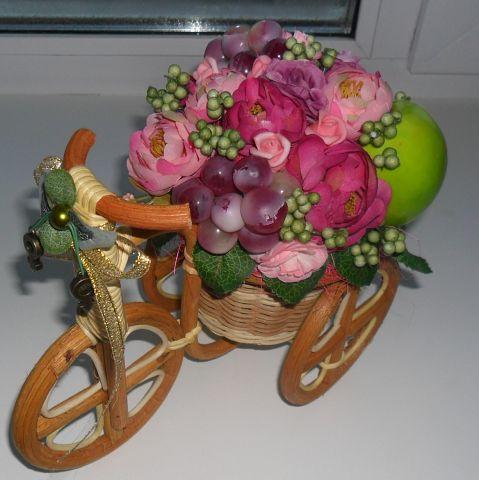Велосипеды в виде декора Декорация