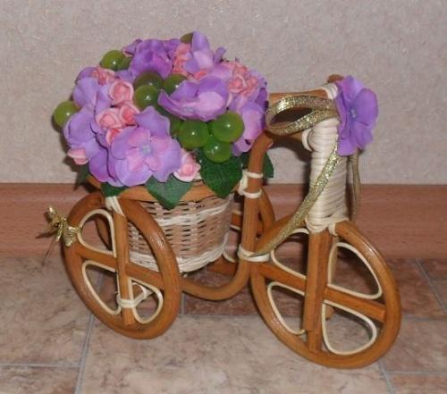 Велосипеды в виде декора Фиола