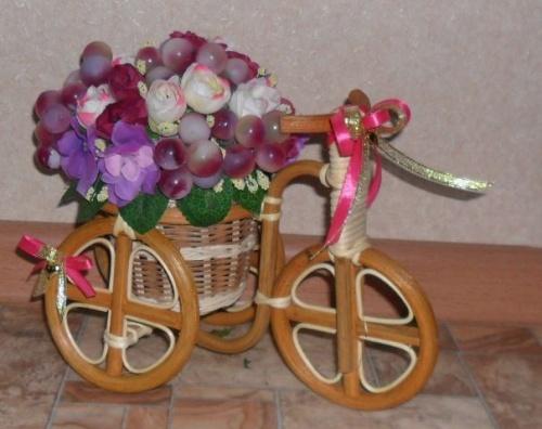 Велосипеды в виде декора Фиолет