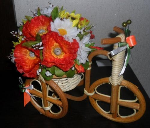 Велосипеды в виде декора Микс