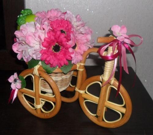 Велосипеды в виде декора Молодость