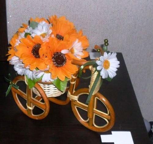 Велосипеды в виде декора Нежность