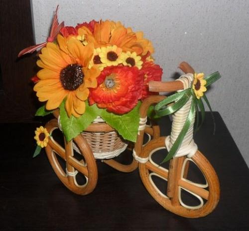 Велосипеды в виде декора Орендж