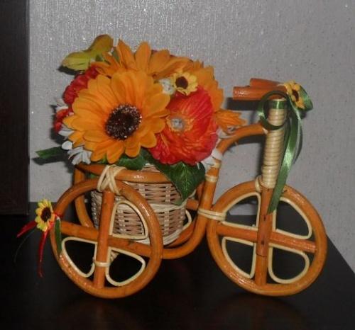 Велосипеды в виде декора Радуга