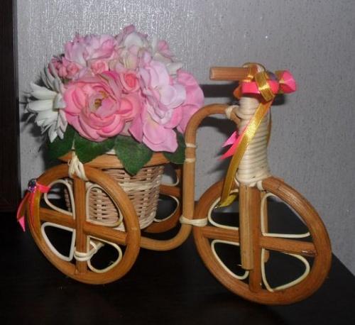Велосипеды в виде декора Руж