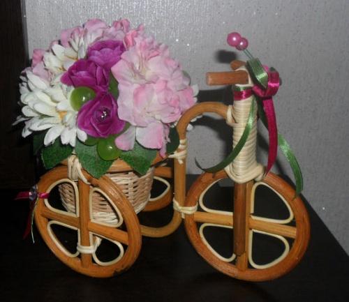 Велосипеды в виде декора Смятение