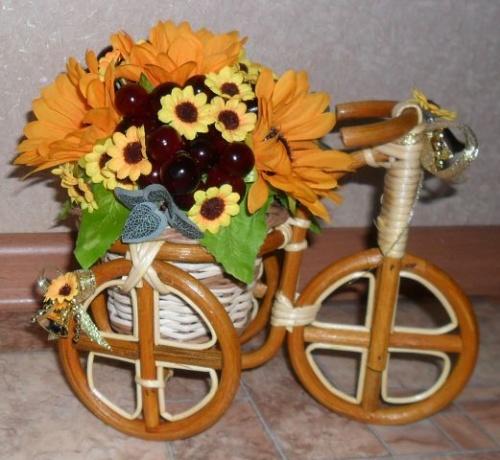 Велосипеды в виде декора Тайна