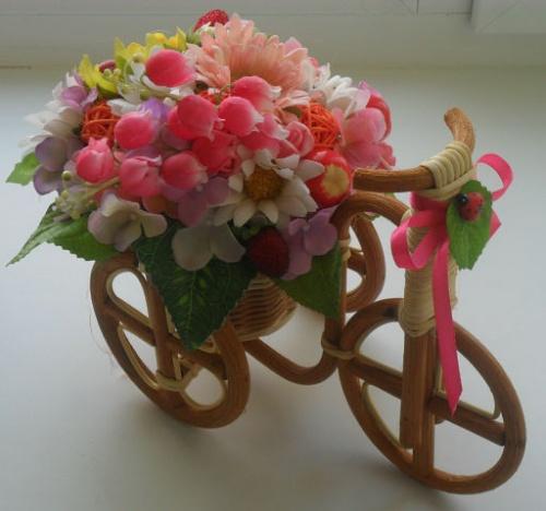 Велосипеды в виде декора Трепет