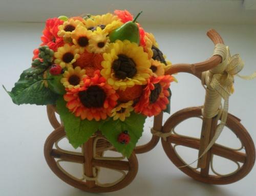 Велосипеды в Виде Декора Улыбка