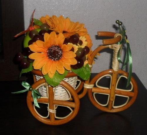 Велосипеды в виде декора Виноград