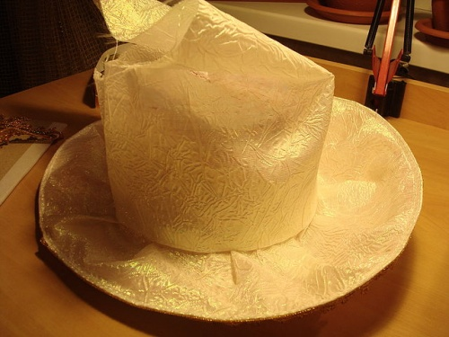 Дамская Шляпка для Бала по Технике Шитья – Мастер-Класс. шаг 14