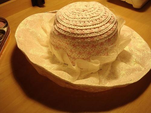 Дамская Шляпка для Бала по Технике Шитья – Мастер-Класс. шаг 9